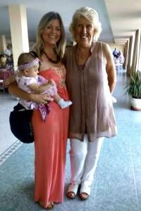 Freya and Fran with Amaia